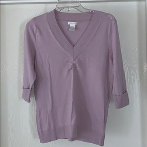 Ladies 3/4 sleeve top
